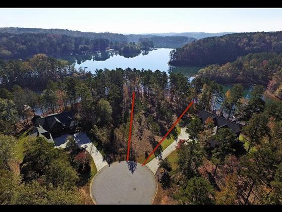 Keowee lakefront lot for sale